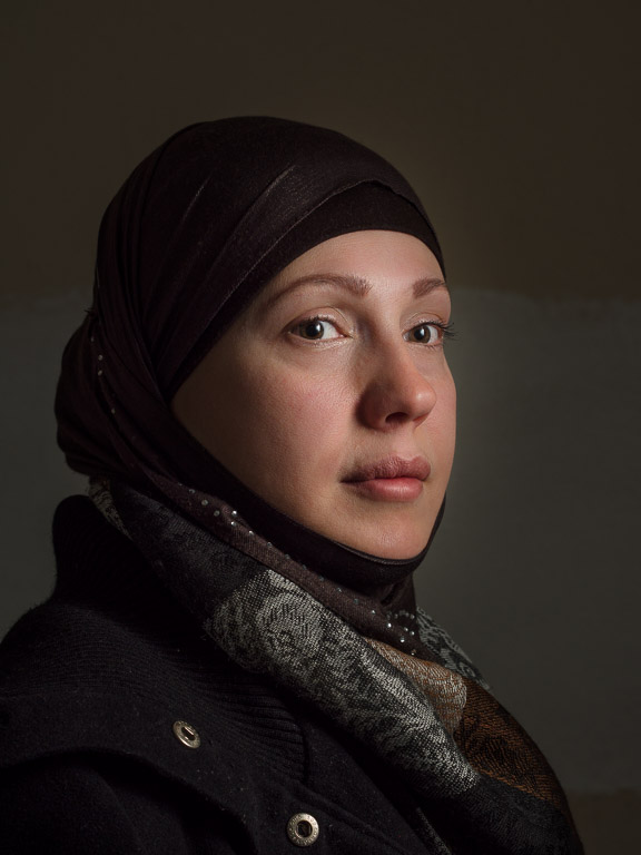 Wife of the Director of a school for Syrian Children, by David Gross